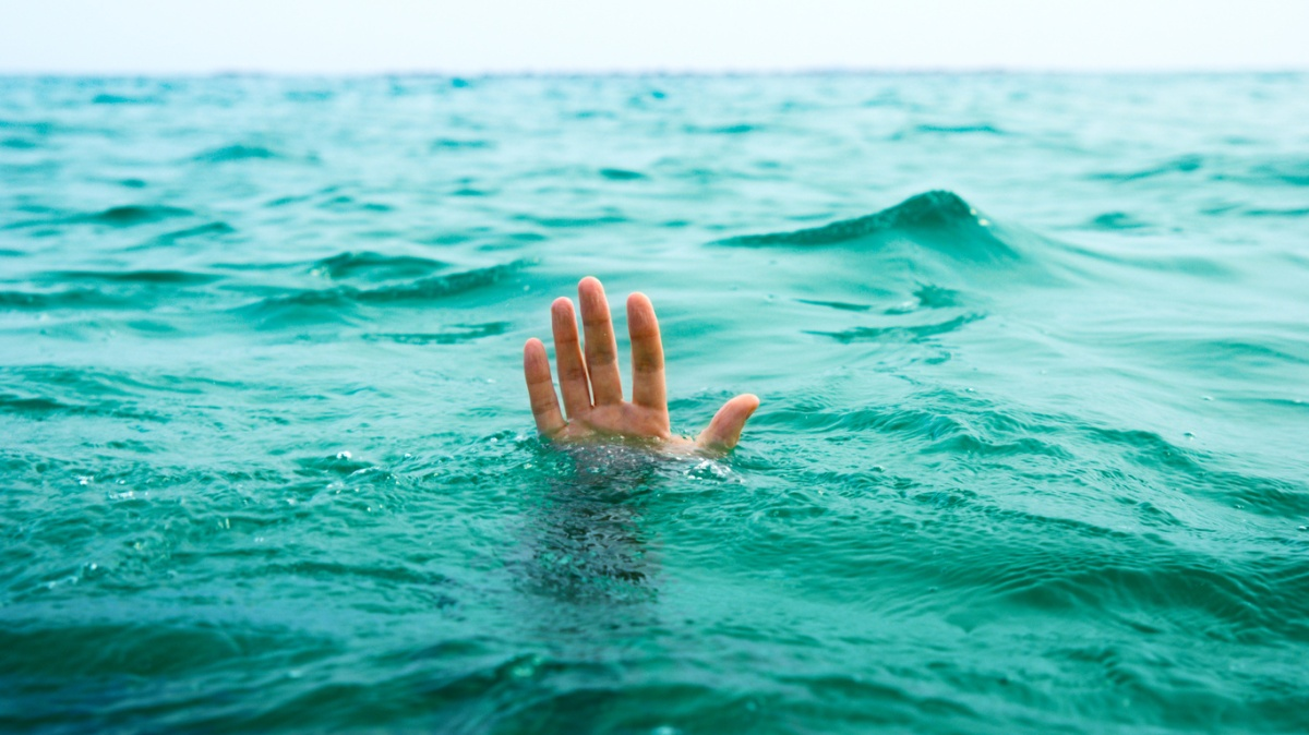 Image result for drowning man